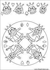 Imprimer le coloriage : Galette des Rois, numéro 759819