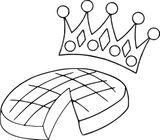 Imprimer le coloriage : Galette des Rois, numéro 76d591ab
