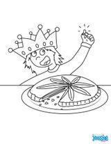 Imprimer le coloriage : Galette des Rois, numéro a1f0adf2