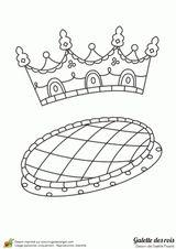 Imprimer le coloriage : Galette des Rois, numéro e14992ef