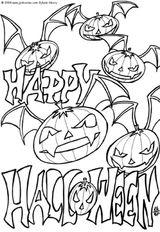 Imprimer le coloriage : Halloween, numéro 147684