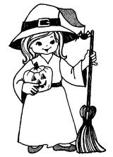 Imprimer le coloriage : Halloween, numéro 198169