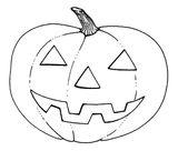 Imprimer le coloriage : Halloween, numéro 203241