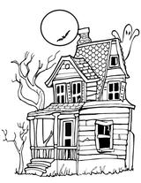 Imprimer le coloriage : Halloween, numéro 255407