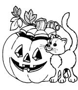 Imprimer le coloriage : Halloween, numéro 28561