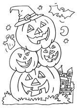 Imprimer le coloriage : Halloween, numéro 28571