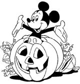 Imprimer le coloriage : Halloween, numéro 285718