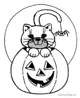 Imprimer le coloriage : Halloween, numéro 28573