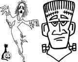 Imprimer le coloriage : Halloween, numéro 28574