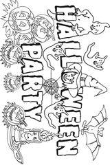 Imprimer le coloriage : Halloween, numéro 28579