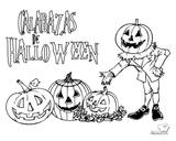 Imprimer le coloriage : Halloween, numéro 29296