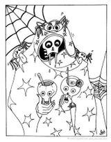 Imprimer le coloriage : Halloween, numéro 29297