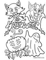 Imprimer le coloriage : Halloween, numéro 29301