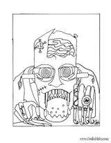 Imprimer le coloriage : Halloween, numéro 29308