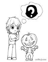 Imprimer le coloriage : Halloween, numéro 29747