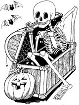 Imprimer le coloriage : Halloween, numéro 43fcf288