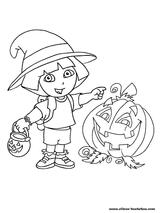 Imprimer le coloriage : Halloween, numéro 53010