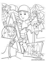 Imprimer le dessin en couleurs : Halloween, numéro 57309