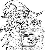 Imprimer le dessin en couleurs : Halloween, numéro 57311