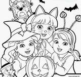 Imprimer le coloriage : Halloween, numéro 5ed12a2d