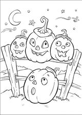 Imprimer le coloriage : Halloween, numéro 65870