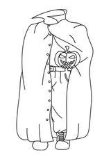 Imprimer le coloriage : Fantôme, numéro 260378