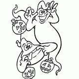 Imprimer le coloriage : Fantôme numéro 28937