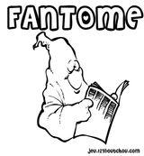 Imprimer le coloriage : Fantôme, numéro 28951