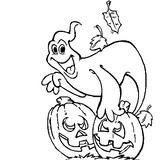 Imprimer le coloriage : Fantôme numéro 28952