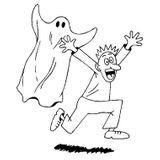 Imprimer le coloriage : Fantôme, numéro 28953