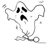 Imprimer le coloriage : Fantôme, numéro 342253