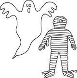 Imprimer le coloriage : Fantôme, numéro 49da79ba