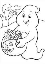 Imprimer le coloriage : Fantôme, numéro 52073