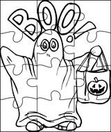 Imprimer le coloriage : Fantôme, numéro 57037