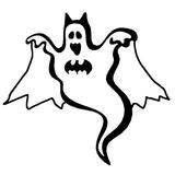 Imprimer le coloriage : Fantôme, numéro 84091
