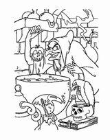 Imprimer le coloriage : Sorcière, numéro 254c03b4