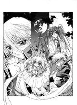 Imprimer le coloriage : Vampire, numéro 29000
