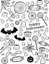 Imprimer le coloriage : Halloween, numéro ad60d234