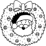 Imprimer le coloriage : Noël, numéro 17741