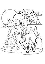 Imprimer le coloriage : Noël, numéro 3bbd9d8