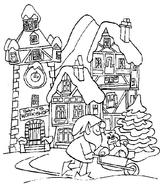 Imprimer le coloriage : Noël, numéro 4892
