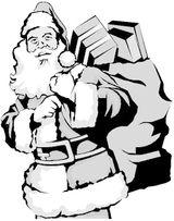 Imprimer le coloriage : Noël, numéro 4906