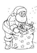 Imprimer le coloriage : Noël, numéro 4b8bc34c