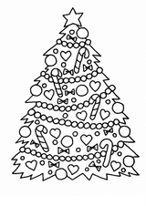 Imprimer le coloriage : Noël, numéro 627324