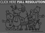 Imprimer le coloriage : Noël, numéro 81c1e2fa