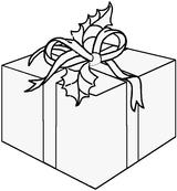 Imprimer le coloriage : Cadeau de Noël, numéro 167813