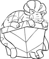 Imprimer le coloriage : Cadeau de Noël, numéro 326da735