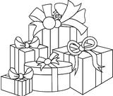 Imprimer le coloriage : Cadeau de Noël, numéro 44595