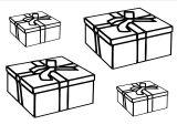 Imprimer le coloriage : Cadeau de Noël, numéro 44598