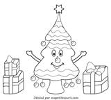 Imprimer le coloriage : Cadeau de Noël, numéro 44600